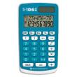 TEXAS INSTRUMENTS Calculatrice primaire TI-106II Bleue 106II/FBL/1E2 photo du produit