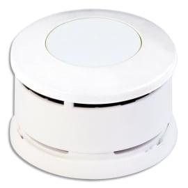 LIFEBOX Détecteur de fumée Modèle SERENITY10 NF 10 ans Blanc - Diamètre 7,9 cm, hauteur 4,7 cm photo du produit