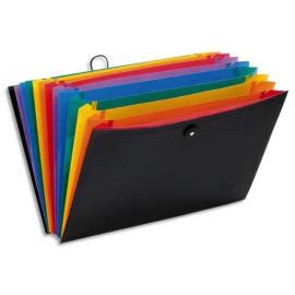 VIQUEL Valise trieur RAINBOW 12 compartiments, en polypro 10/10e, Noir intérieur multicolore photo du produit