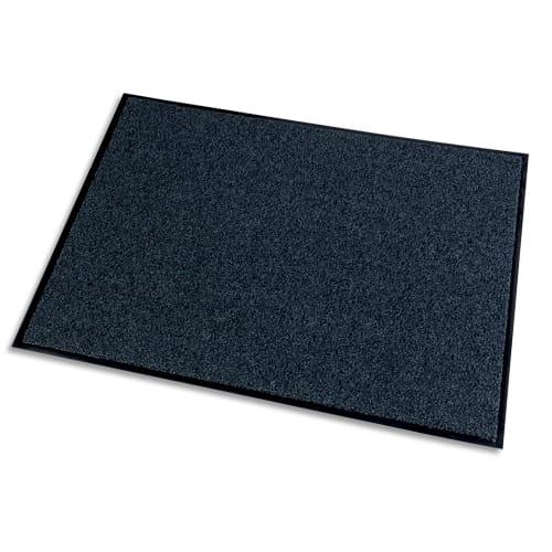 PAPERFLOW Tapis d'accueil Grattant recyclé Green & Clean Gris, aspect velours, en polyamide L150 x H90 cm photo du produit Principale L
