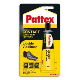 PATTEX Colle Contact Liquide pour assemblage et placage multi-matériaux. Tube 50g sous blister photo du produit