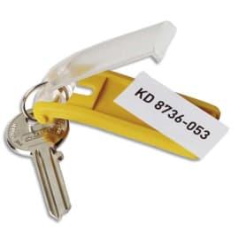 DURABLE Sachet de 6 porte-clés KEY CLIP assortis photo du produit