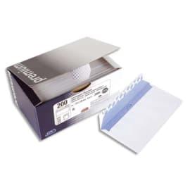 GPV Boîte 100 enveloppes Blanches auto-adhésives 100g qualité+ format C5 162x229mm fenêtre 45x100mm 5509 photo du produit