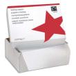 Boîte de 2500 paravents listing format 380x11'' 1 exemplaire Blanc 60g bande caroll fixe photo du produit