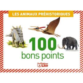 LITO DIFFUSION Boîte de 100 bons points animaux préhistorique photo du produit