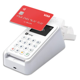 SUMUP Kit de paiement Sumup 3G+, contenant 1 imprimante+3 rouleaux de papier+1 adaptateur+1 câble USB-C photo du produit