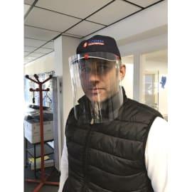 Visière d'hygiène pour casque de chantier/casquette photo du produit