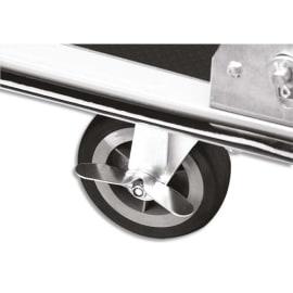SAFETOOL Roue pivotante Noire pour chariot 3803, diamètre 10 cm photo du produit
