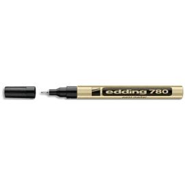 EDDING Marqueur peinture E780 laque Or, pointe extra fine, 842053 photo du produit