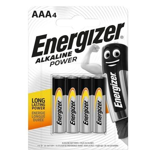 ENERGIZER Blister de 4 piles Power AAA LR03 FSB4 7638900247893 photo du produit Principale L