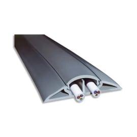 VISO Protège-câbles souple Gris longueur 5 mètres - 66 x 15 mm / ouverture 12 x 19 mm photo du produit