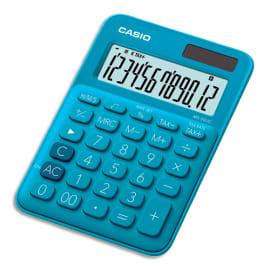 CASIO Calculatrice de bureau 12 chiffres Bleue MS-20UC-BU-S-EC photo du produit