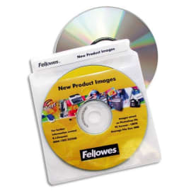 FELLOWES P/100 enveloppes plastique cd/dvd 9831201 photo du produit