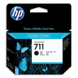 HP Cartouche d'encre Noir 711 CZ133A photo du produit