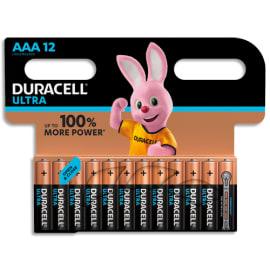 DURACELL Piles Ultra AAA x12 5000394004962 photo du produit