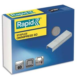 RAPID Boîte de 1000 agrafes SUPREME OMNIPRESS 60 photo du produit