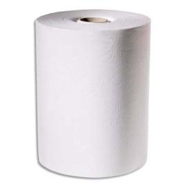 TORK Lot de 6 Rouleaux d'essuie-mains pour distributeur électronique 2 plis 143m, largeur 24,7 cm Blanc photo du produit