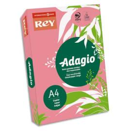 INAPA Ramette 500 feuilles papier couleur pastel ADAGIO Rose pastel A4 80g photo du produit