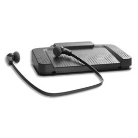 PHILIPS Kit de transcription comprenant pédalier USB, casque et logiciel SpeechExec Pro Transcribe 2ans photo du produit