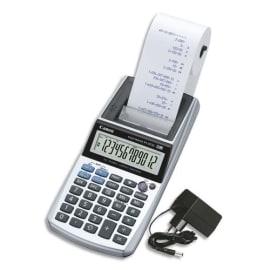 CANON Calculatrice imprimante portable 12 chiffres P1-DTSC II+adaptateur AD11 inclus 2304C002AA photo du produit
