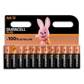DURACELL Blister de 12 piles PLUS 100% AA X12 5000394140967 photo du produit
