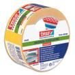 TESA Rouleau Adhésif double face pour fixation extra-forte, 50 mm x 25 m, Blanc pellicule Jaune photo du produit