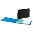 ARIANEX Classeur format A3 à l'italienne à 4 anneaux en D en balacron Bleu photo du produit