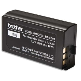 BROTHER Batterie rechargeable Li-On pour P-Touch 18 et 24mm BAE001 photo du produit