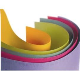 CANSON couleur 160g ''MI-TEINTES'' 50x65 cm paquet de 24 feuilles, coloris assortis vif Ecole photo du produit