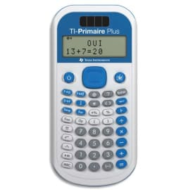 TEXAS INSTRUMENTS Calculatrice primaire/collège TI Primaire Plus PRIMAIRE/TBL/1E2 photo du produit