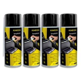 KINEON Lot de 4 aérosols gaz sec dépoussiérant inflammable 400ml AHFC4004PKKIN photo du produit