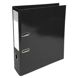 EXACOMPTA Classeur à levier IDERAMA en carton pelliculé. Dos 7 cm. Format A4+. Coloris Noir photo du produit