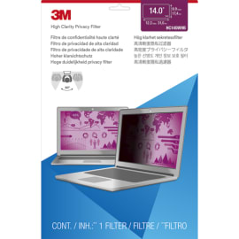 3M Filtre de confidentialité pour ordinateur portable de 14 HC140W9B photo du produit
