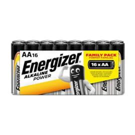 ENERGIZER Blister de 16 piles aa LR06 power 7638900275230 photo du produit
