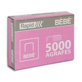 RAPID Agrafes BéBé (8/4) en boîte de 5000 photo du produit