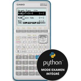 CASIO Calculatrice graphique GRAPH35+E II Menu PYTHON intégré photo du produit