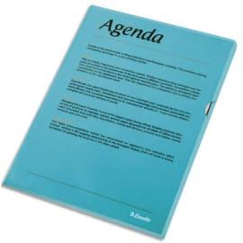 ESSELTE Boîte de 100 pochettes-coin Copy Safe Bleu en polypropylène 11/100e photo du produit
