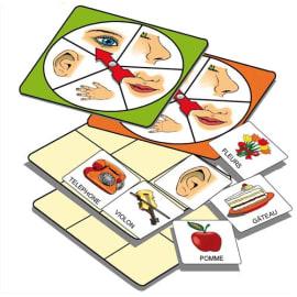 Atelier d'activité basé sur la connaissance des 5 sens, pour 1 à 5 joueurs de 3 à 7 ans photo du produit