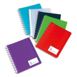 VIQUEL Protège documents MAXI GEODE 60 vues en polypro translucide 7/10ème, coloris assortis photo du produit