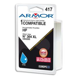 ARMOR Cartouche compatible Jet d'encre Cyan HP 364XL B12573R1 photo du produit