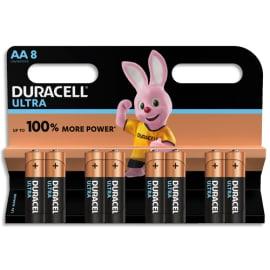 DURACELL Blister de 8 piles Alcalines 1,5V AA LR06 Ultra Power Duralock 5000394002548 photo du produit