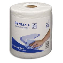 KIMBERLY Lot de 6 Bobines à dévidage central Blanc WYPALL photo du produit