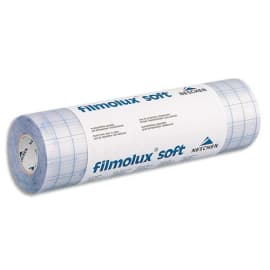 FILMOLUX Film adhésif repositionnable, transparent brillant 0,61x25m, 70 microns photo du produit