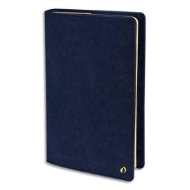 QUO VADIS Agenda Wild Prestige 1S/2P, papier ivoire - format : 16 x 24 cm couverture Velours Bleu photo du produit