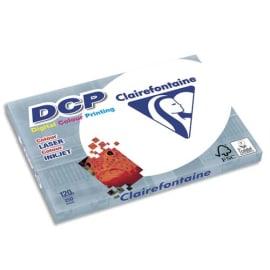 CLAIREFONTAINE Ramette de 250 feuilles papier Blanc DCP copieur, Laser, Jet d'encre couleur 120 gr A3 photo du produit