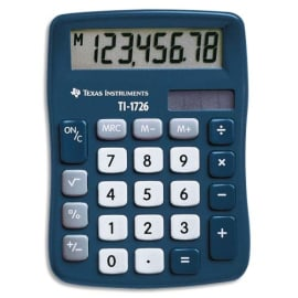 TEXAS INSTRUMENTS Calculatrice de bureau TI-1726 - 1726/FBL/11E1 photo du produit