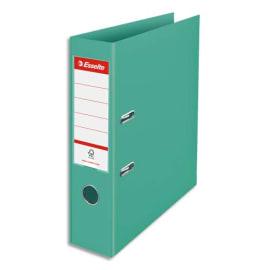 ESSELTE Classeur à levier Colour ice Standard en polypropylène, dos de 7,5 cm. Coloris Vert photo du produit