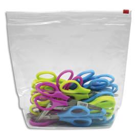 WONDAY Sachet de 26 paires de ciseaux écoliers bouts ronds 13 cm dont 2 gratuits photo du produit