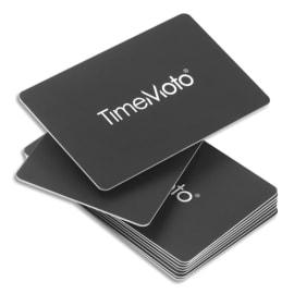 SAFESCAN Boîte de 25 badges cartes RF-100 pour pointeuses TimeMoto 125-0603 photo du produit