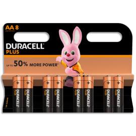 DURACELL Blister de 8 Piles Alcaline 1,5V AA LR6 Plus Power 5000394017764 photo du produit